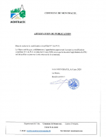 MS1- ATTESTATION DE PUBLICATION