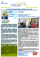 NEWSLETTER N°3 – AOUT 2021